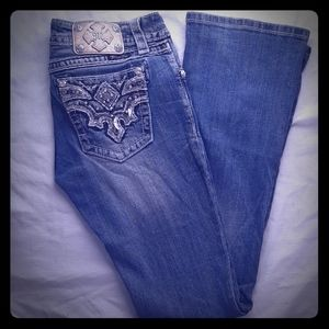 Miss Me Jean's size 28 inseam 34 Bootcut